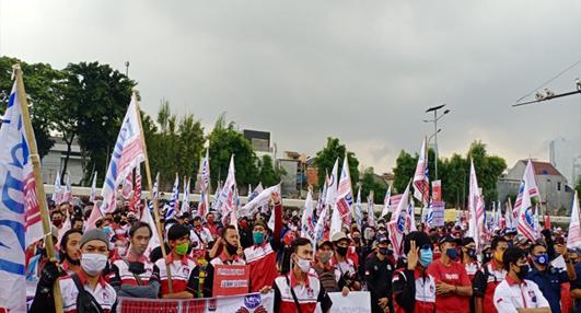 Tolak Mogok Nasional, KSBSI Tegaskan Akan Aksi Sendiri