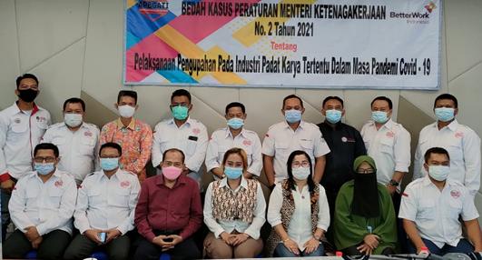 Permenaker No. 2 Tahun 2021 Tentang Upah Padat Karya Tertentu, Disikapi Kritis Oleh APBGATI