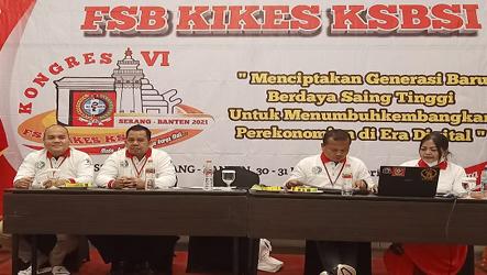 Binson Purba Lanjut Jadi Ketum FSB KIKES 2021-2025