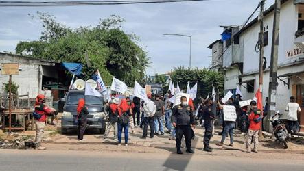 Serikat Buruh GARTEKS KSBSI Tangerang Raya Demo PT. Aggiomultimex, Ini Tuntutannya