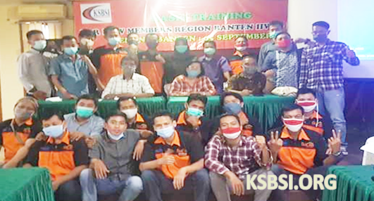 Perkuat SDM, DPP FKUI KSBSI Gelar Basic Training di Kota Serang