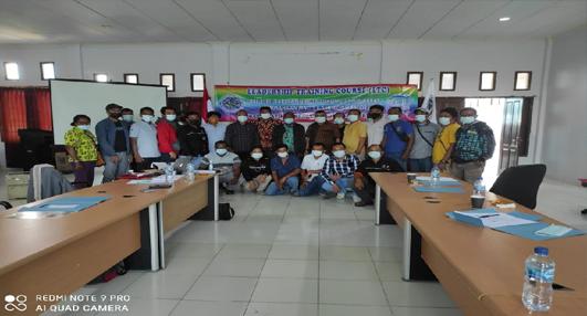 FPE KSBSI & SOLIDARITY CENTER KUNJUNGJI SORONG, PAPUA BARAT